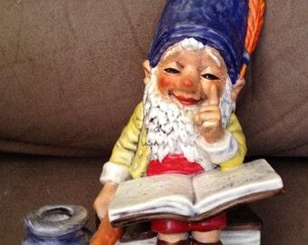 "Co-Boy Goebel ""Bob"" The Bookworm Gnome TMK 5 Made in W. Germany Well 510"