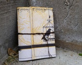Paper Pocket Notebook - Crow Silhouette