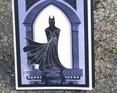 Gothic Defender - A2 inspired batman blank card
