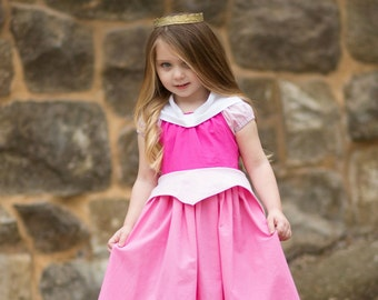 Aurora - Everyday Princess Dress - Sleeping Beauty - Size 1/2 through 8