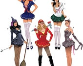 Sexy Little Costumes and Outfits - Simplicity 2072 - New Sewing Pattern, Sizes 14, 16, 18, 20, 22