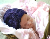 make your own Lucy Lady Hat (DIGITAL KNITTING PATTERN) newborn baby toddler child girl
