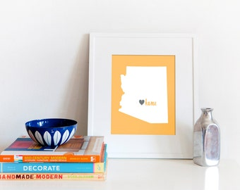 Phoenix is My Home // 8x10 Digital Arizona Print