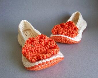 Crochet Slippers Pattern, Crochet Pattern, Crochet Slippers Women, Womens Slippers Pattern, Slippers Crochet, Girls Slippers