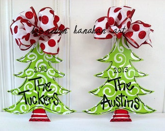Christmas Tree Ornament - Bronwyn Hanahan Art