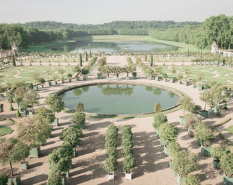 Versailles Photography - The Orangerie, Paris Garden, France Travel Photography, French Home Decor, Large Wall Art
