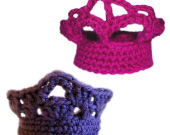 Mini Tiara Set - PDF Crochet Pattern - Instant Download