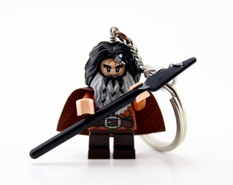 Bifur Keychain, made from New Hobbit LEGO® Minifigure