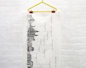 New York Skyline Tea Towel