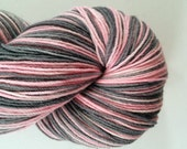 Your choice: Self-striping OR Variegated - Elephant - Dye-to-order