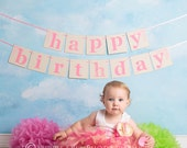 Baby Girls Birthday Tutu Dress Outfit  Sweet 1st Birthday Baby Tutu Dress