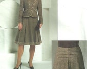 Vogue 2870 / Designer Sewing Pattern By Oscar de la Renta / Skirt Jacket Suit