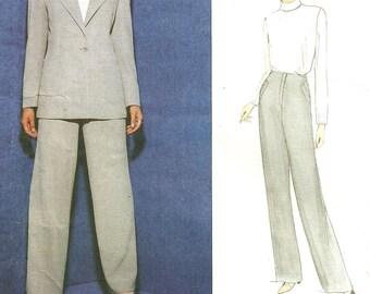Vogue 1871 / Designer Sewing Pattern By Anne Klein / Jacket Pants Suit