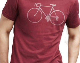 Bike Shirt Valentine's Day Gift Bicycle T-shirt Mens T shirt Cycle Bike Gift Dad Gift Valentine's Gift Tshirt Bicycle Clothing
