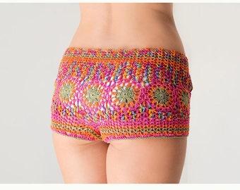 PATTERN Crochet beach shorts  PDF