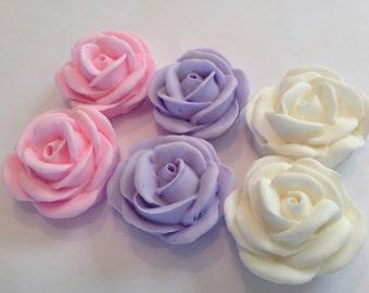 LOT of 50 sugar roses