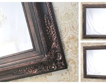 Large white mirror for sale 44x32 vintage by revivedvintage for Large white mirrors for sale