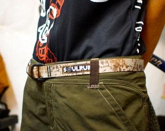 Soulrun Nylon Webbing Belt- Desert Digital Camo