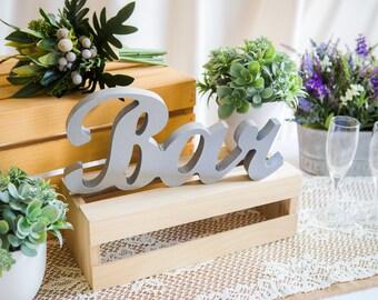 Bar Sign for Wedding, Freestanding Large Bar Sign for Wedding Party or Event, Wooden Bar Sign in Many Colors (Item - BAR200)