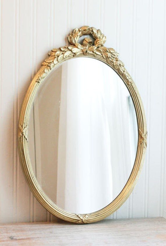 Ornate Wall Mirror Vintage Mirror French Country Art