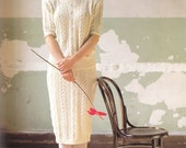 Vintage Summer Knitting Pattern, Knit Dress Pattern, Knit Skirt Pattern, Knit Blouse Pattern, Knit Sweater Pattern, Knit Polo-T Pattern