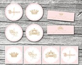 Once Upon a Time Princess Stickers and Address Labels