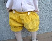 Bubble Shorts Pixie Style - PDF Pattern -  Sizes 6m to age 10