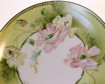 O. & E.G. Royal China Hand Painted Plate