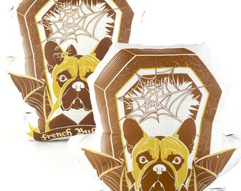 French Bulldog Dog Breed Pillow Matching Set