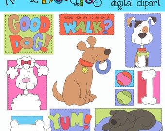 Ronnies Good Dog Clip art