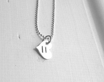 Equality Necklace, Heart Necklace, LGBT Necklace, Allies Necklace, Gay Pride Necklace, Sterling Silver Marriage Equality, LGBTQ Jewelry