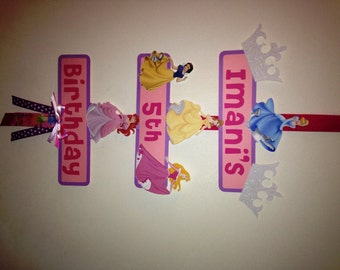 Disney Princess Party Sign