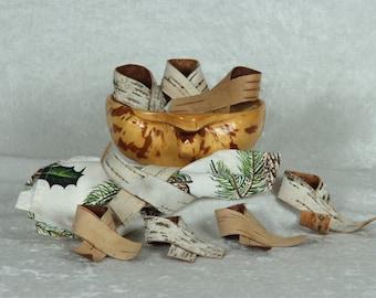 Handmade Birch Napkin Rings for dinners, weddings, parties (SKT 158)