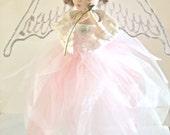 Christening Angel/Fairy Doll - Handmade