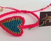 Heart makrame - Handmade by Kitty