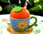 Pincushion Time Cup & Saucer