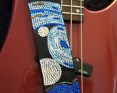 Starry Starry Night guitar strap