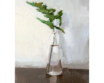 """5x7"""" print - plant still life - """"Fern 4"""""""