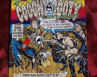 Coochy Cooty Men's Comics 1970 No 1 Robert Williams ADULT MATURE Gorilla Woman Of The Third Reich Underground Alternative Comix
