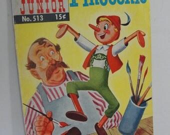 Vintage Comic book Pinocchio
