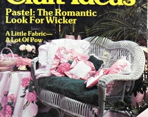 Decorating and Craft Ideas Magazine - Vintage May 1983