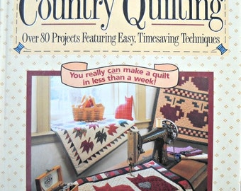 Quick Country Quilting Book by Debbie Mumm, Vintage 1992
