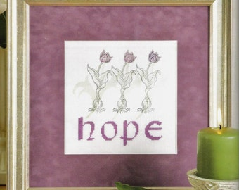 Quick Inspirational Cross Stitch with Rubber Stamping Booklet