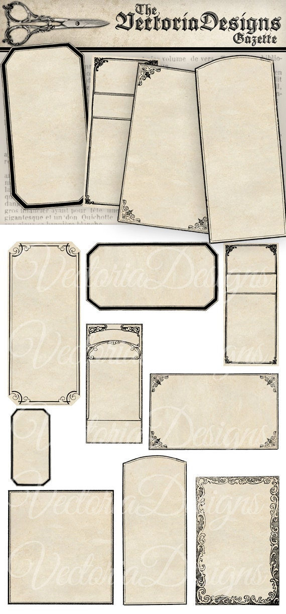 blank apothecary labels - photo #23