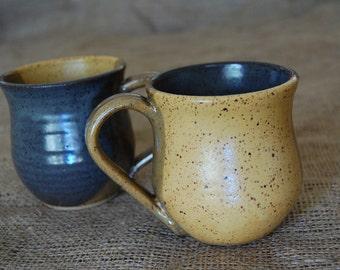 Goldfinch Ceramic Stoneware Mug