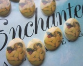 12 Enchanting Rapheal's Angel Western German Cabochons
