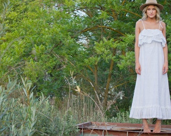 """SALE- Used To Be 505, Now 150, Vintage Inspired Wedding Dress - """"Lacie"""""""