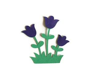 Flower die cuts - 4 dies - you choose your colors