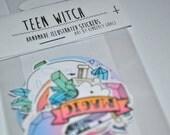 Teen Witch Sticker Set