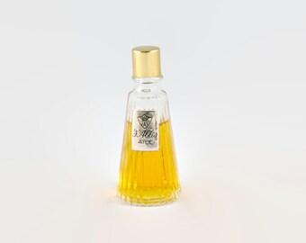 Vintage Chabrier of Paris 'J'Ablis Ailé' Perfume Bottle and Contents
